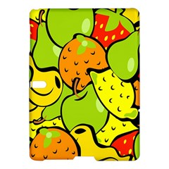 Digitally Created Funky Fruit Wallpaper Samsung Galaxy Tab S (10.5 ) Hardshell Case