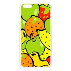 Digitally Created Funky Fruit Wallpaper Apple Seamless iPhone 6 Plus/6S Plus Case (Transparent)