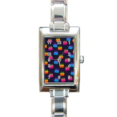 A Tilable Birthday Cake Party Background Rectangle Italian Charm Watch