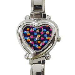 A Tilable Birthday Cake Party Background Heart Italian Charm Watch