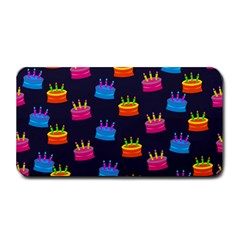 A Tilable Birthday Cake Party Background Medium Bar Mats