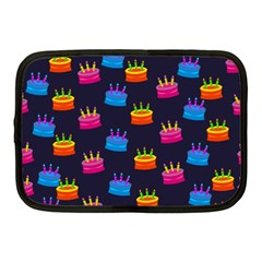 A Tilable Birthday Cake Party Background Netbook Case (medium)