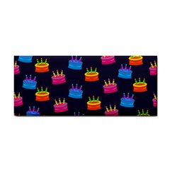 A Tilable Birthday Cake Party Background Cosmetic Storage Cases