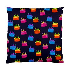 A Tilable Birthday Cake Party Background Standard Cushion Case (One Side)