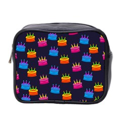 A Tilable Birthday Cake Party Background Mini Toiletries Bag 2-Side