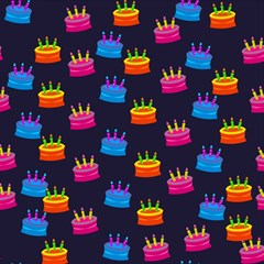 A Tilable Birthday Cake Party Background Magic Photo Cubes