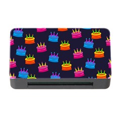 A Tilable Birthday Cake Party Background Memory Card Reader with CF