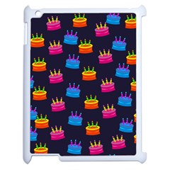 A Tilable Birthday Cake Party Background Apple Ipad 2 Case (white)
