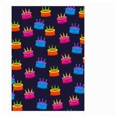 A Tilable Birthday Cake Party Background Small Garden Flag (two Sides)