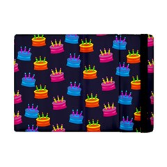 A Tilable Birthday Cake Party Background Apple Ipad Mini Flip Case