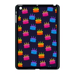 A Tilable Birthday Cake Party Background Apple iPad Mini Case (Black)