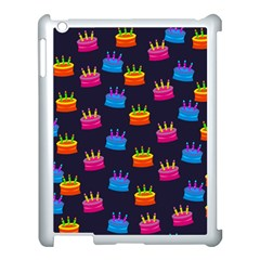 A Tilable Birthday Cake Party Background Apple Ipad 3/4 Case (white)