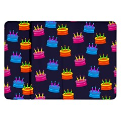 A Tilable Birthday Cake Party Background Samsung Galaxy Tab 8.9  P7300 Flip Case