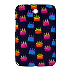 A Tilable Birthday Cake Party Background Samsung Galaxy Note 8 0 N5100 Hardshell Case