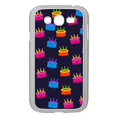 A Tilable Birthday Cake Party Background Samsung Galaxy Grand Duos I9082 Case (white)