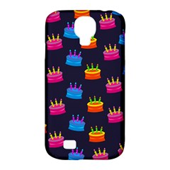 A Tilable Birthday Cake Party Background Samsung Galaxy S4 Classic Hardshell Case (pc+silicone)