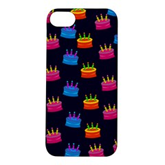 A Tilable Birthday Cake Party Background Apple Iphone 5s/ Se Hardshell Case