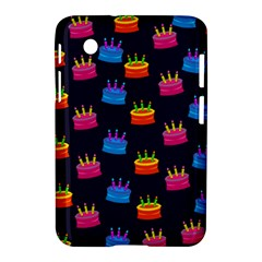 A Tilable Birthday Cake Party Background Samsung Galaxy Tab 2 (7 ) P3100 Hardshell Case