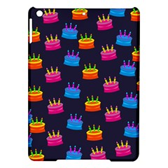 A Tilable Birthday Cake Party Background iPad Air Hardshell Cases