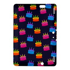 A Tilable Birthday Cake Party Background Kindle Fire Hdx 8 9  Hardshell Case
