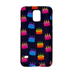A Tilable Birthday Cake Party Background Samsung Galaxy S5 Hardshell Case