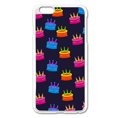 A Tilable Birthday Cake Party Background Apple iPhone 6 Plus/6S Plus Enamel White Case