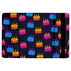A Tilable Birthday Cake Party Background iPad Air 2 Flip