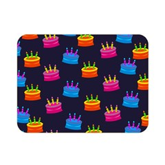 A Tilable Birthday Cake Party Background Double Sided Flano Blanket (Mini)