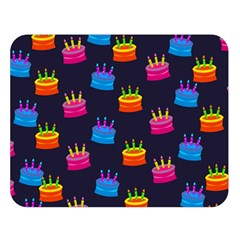 A Tilable Birthday Cake Party Background Double Sided Flano Blanket (Large)