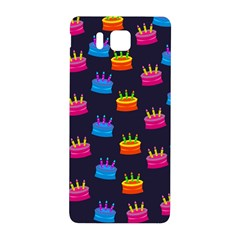 A Tilable Birthday Cake Party Background Samsung Galaxy Alpha Hardshell Back Case
