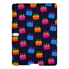 A Tilable Birthday Cake Party Background Samsung Galaxy Tab S (10.5 ) Hardshell Case