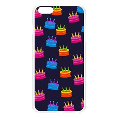 A Tilable Birthday Cake Party Background Apple Seamless iPhone 6 Plus/6S Plus Case (Transparent)
