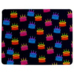 A Tilable Birthday Cake Party Background Jigsaw Puzzle Photo Stand (rectangular)