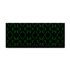 Green Black Pattern Abstract Cosmetic Storage Cases