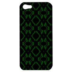 Green Black Pattern Abstract Apple iPhone 5 Hardshell Case