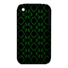 Green Black Pattern Abstract iPhone 3S/3GS