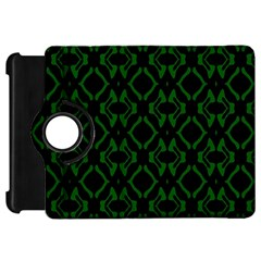 Green Black Pattern Abstract Kindle Fire Hd 7