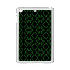 Green Black Pattern Abstract iPad Mini 2 Enamel Coated Cases