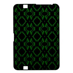 Green Black Pattern Abstract Kindle Fire Hd 8 9