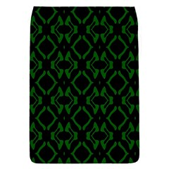 Green Black Pattern Abstract Flap Covers (s)