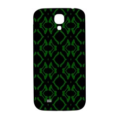 Green Black Pattern Abstract Samsung Galaxy S4 I9500/i9505  Hardshell Back Case