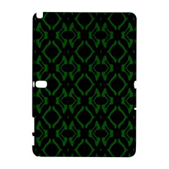 Green Black Pattern Abstract Galaxy Note 1