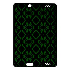 Green Black Pattern Abstract Amazon Kindle Fire Hd (2013) Hardshell Case