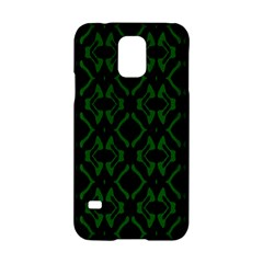 Green Black Pattern Abstract Samsung Galaxy S5 Hardshell Case