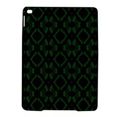 Green Black Pattern Abstract Ipad Air 2 Hardshell Cases