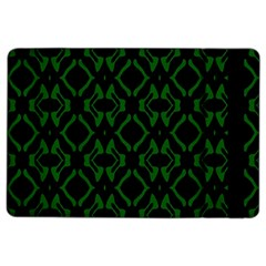 Green Black Pattern Abstract Ipad Air 2 Flip