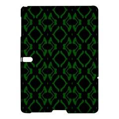 Green Black Pattern Abstract Samsung Galaxy Tab S (10.5 ) Hardshell Case