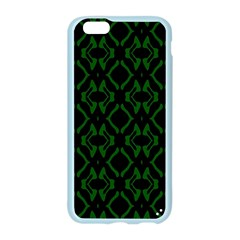 Green Black Pattern Abstract Apple Seamless iPhone 6/6S Case (Color)
