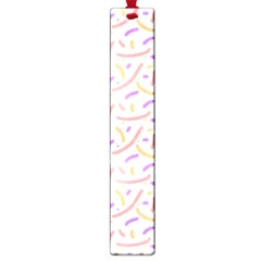 Confetti Background Pink Purple Yellow On White Background Large Book Marks