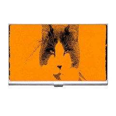 Cat Graphic Art Business Card Holders